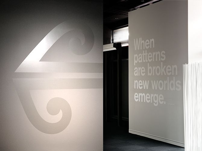 I couldn't agree more with this sentiment. This isn't actually in an airport, but it's great new work by my friends Aaron Pollack and Mickey Smith for Air New Zealand. NEW WORK / Air New Zealand - Aaron Pollock