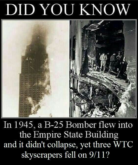 911 was done by the cia. 3 perfect demolitions..period conspiracy is over.
