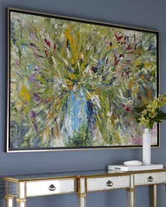 Jinlu Abstract Art by John-Richard Collection at Horchow.-Home Decor Ideas-Concept Candie Interiors-----Pinned by #conceptcandieinteriors #homedecor
