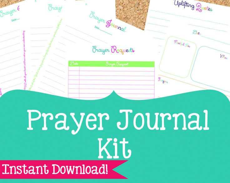 Best 25+ Prayer journal template ideas on Pinterest | Prayer ...