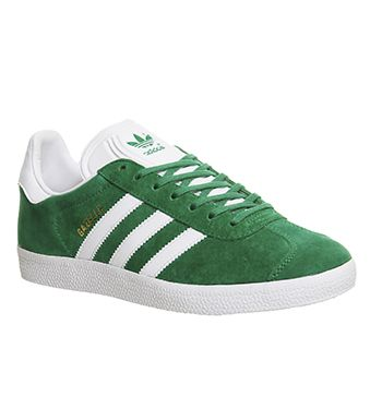 Adidas, Gazelle, Green White