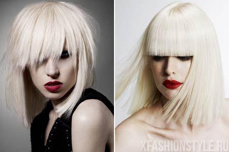Модные креативные стрижки для волос средней длины. Фото!