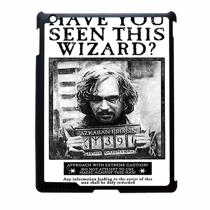Sirius Black Wanted Poster iPad 2 Case | Sirius Black, Ipad 2 Case and ...