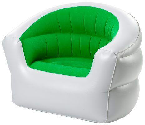 Oppblåsbar stol