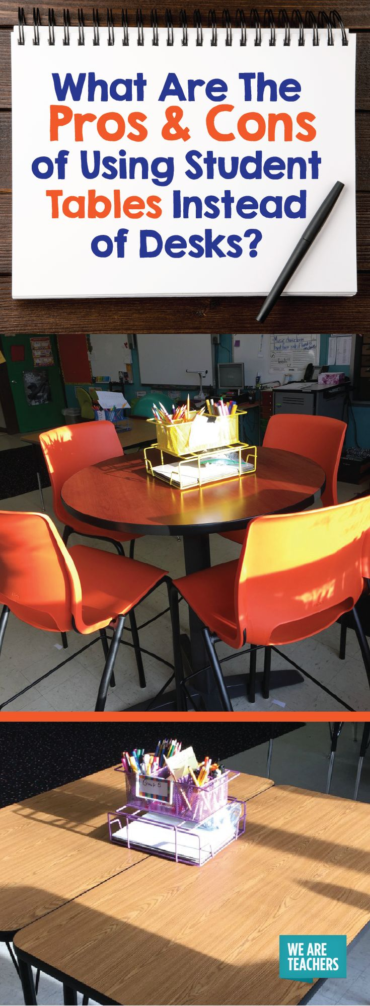 400 best classroom organization images on pinterest for Tables and desks in the classroom