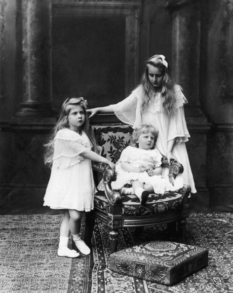 Elisabeth, Mignon, and Nicolae of Romania