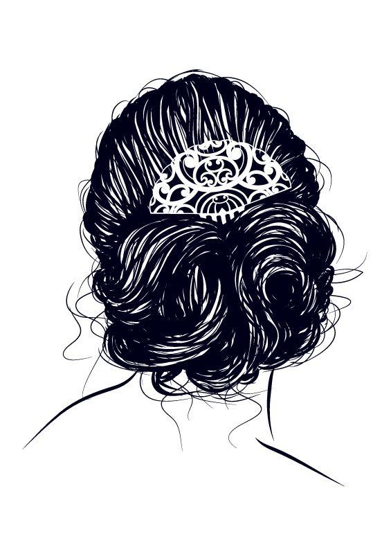 HAIR s:  Wacom tablet artwork