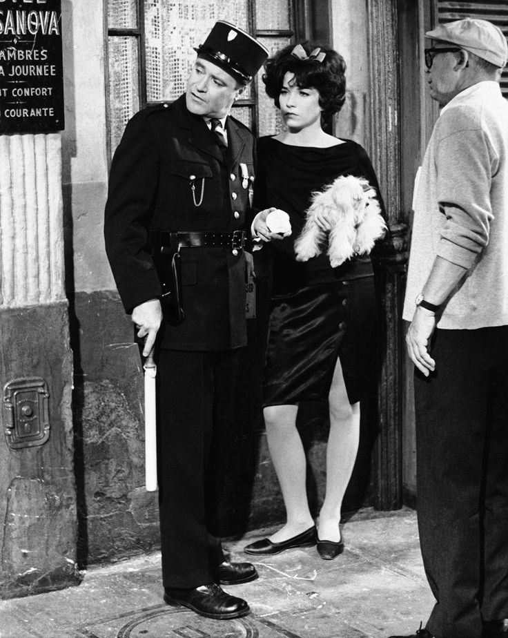 """Billy Wilder con gli attori Jack Lemmon e Shirley MacLaine nel 1962 durante le riprese di """"Irma la dolce""""(AP Photo/United Artists"""