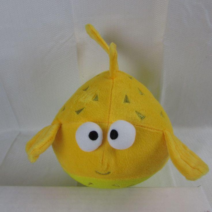 Disney finding nemo porcupine puffer fish bloat 8 yellow for Puffer fish stuffed animal