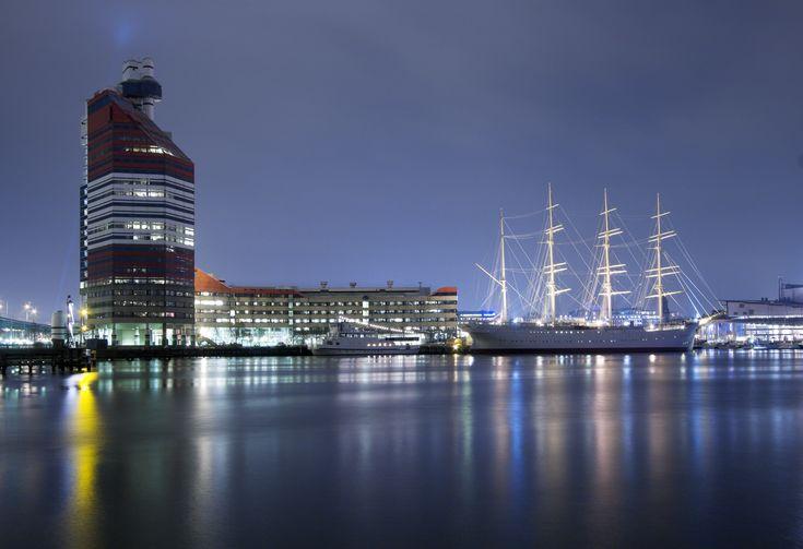 Amazing night view Gothenburg ,Sweden