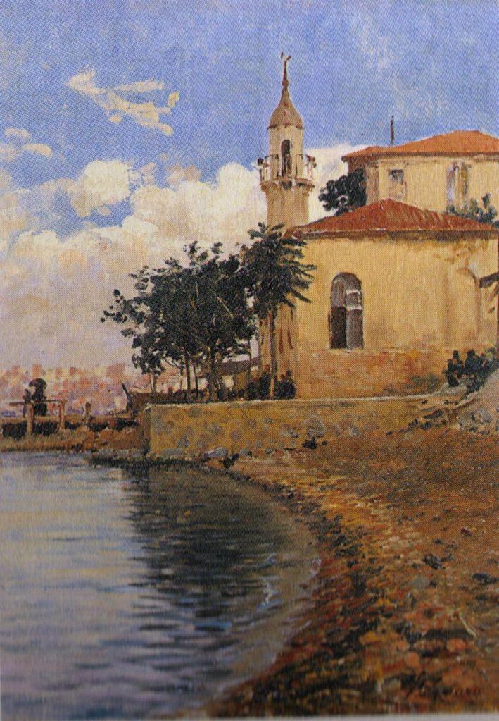 Fausto Zonaro - Mosque