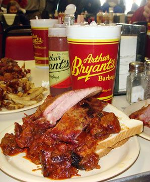 Arthur Bryant's, Kansas City, MO