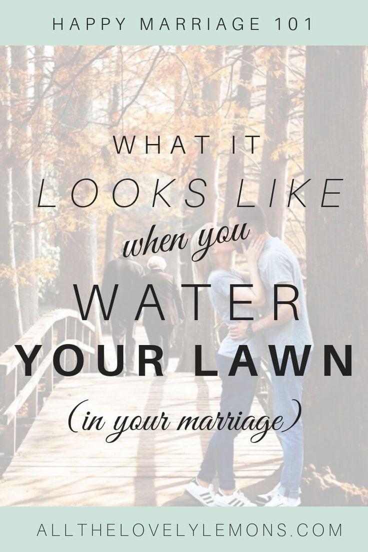 A grama não é mais verde do outro lado para aqueles em relacionamentos felizes. …   – Love & Marriage