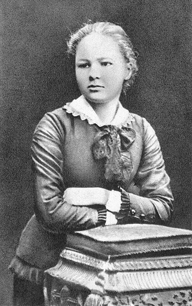 Madame Marie Curie at 16.  Marie Skłodowska-Curie was a French-Polish physicist and chemist, famous for her pioneering research on radioactivity.