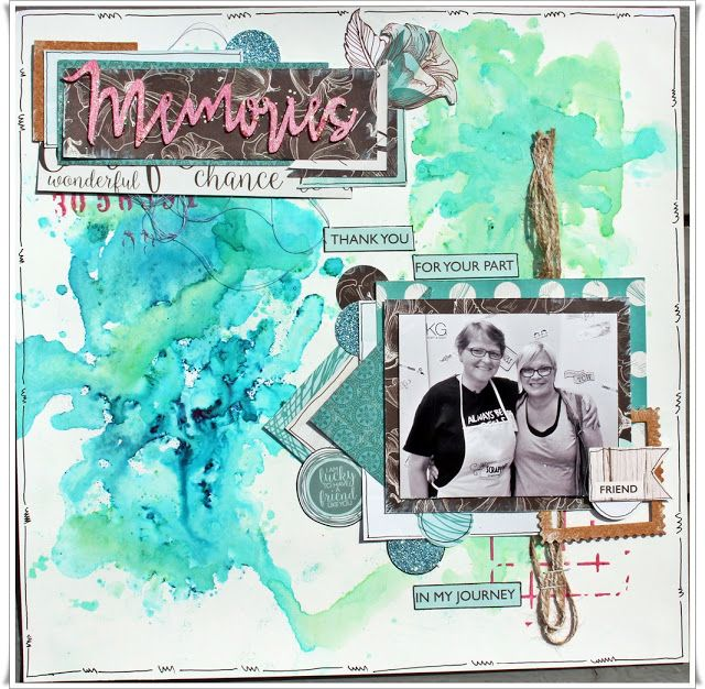 Jorunn`s Fristed: Memories, Layout.
