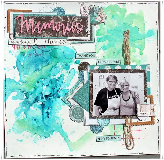 Jorunn`s Fristed: Memories, Layout.