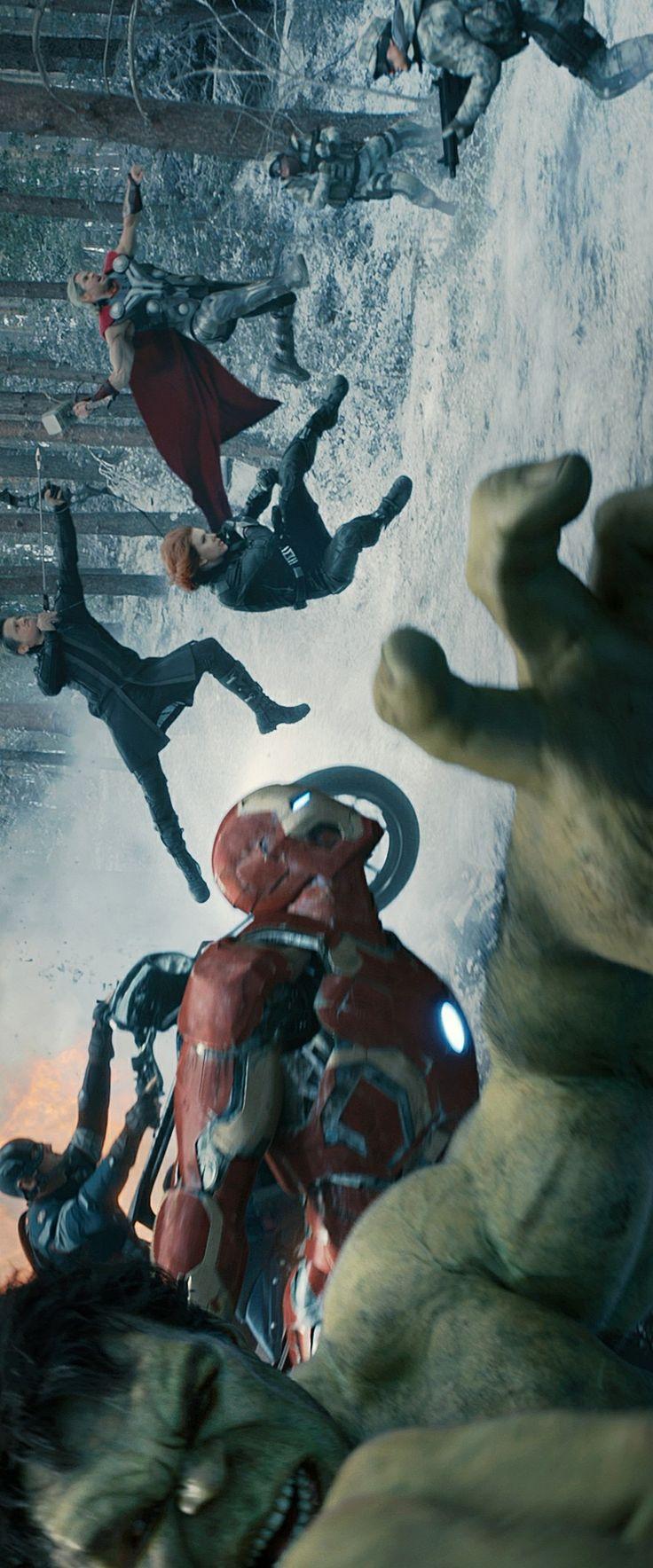 Bruce Banner, Tony Stark, Steve Rogers, Thor, Natasha Romanoff, Clint Barton    Avengers: Age of Ultron