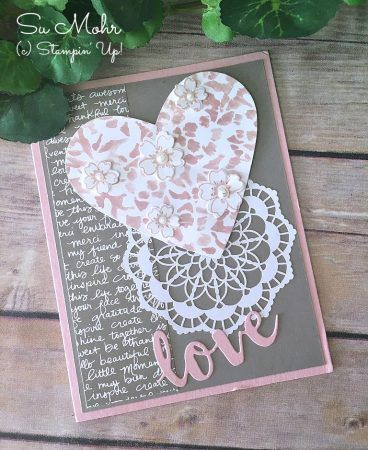 Soft Valentine from a Friend! - Pretty Paper Cards