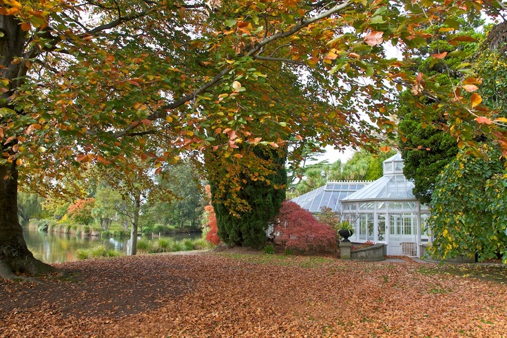 Mona Vale Gardens, Christchurch, New Zealand.