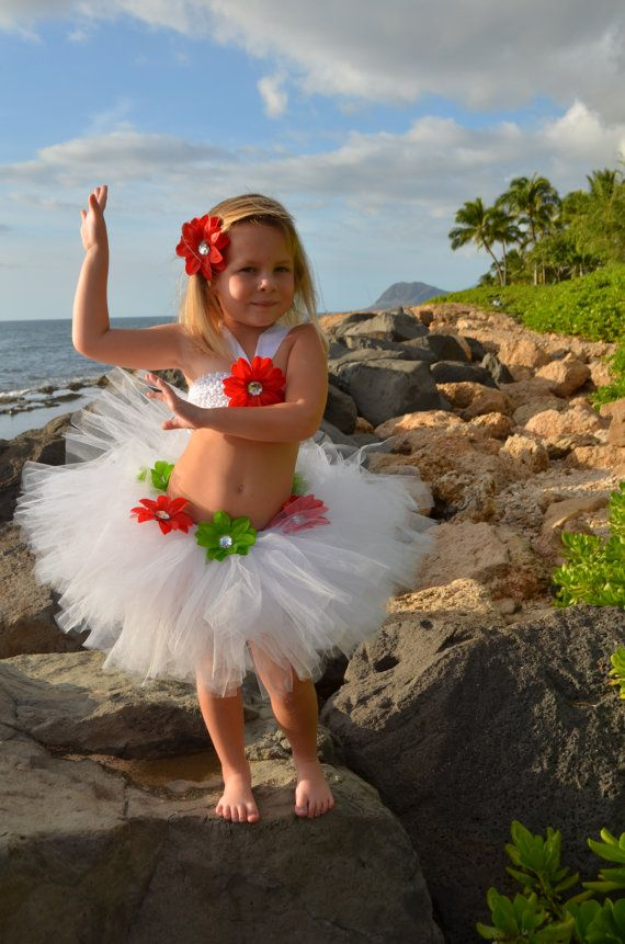 Tutus for Luau themed parties  Great for by princesstutus2010, $30.00