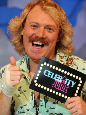 Celebrity Juice, Keith Lemon. This man is most certianly one of the funniest people ever.