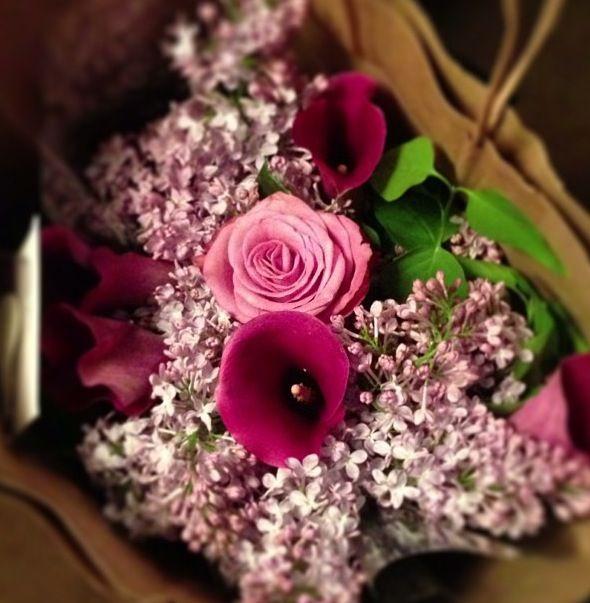 Beautiful roses on doorstep :) #PiagetRose