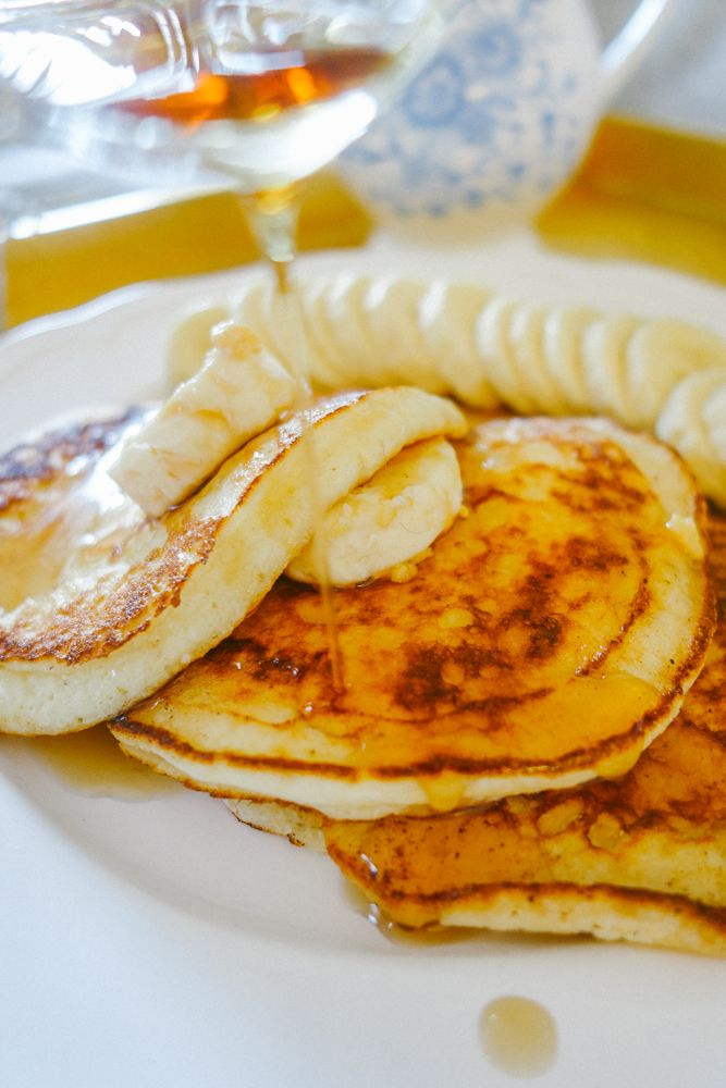 Knotting Hill's Granger & Co. actual recipe for Honey Ricotta Pancakes | Londoner