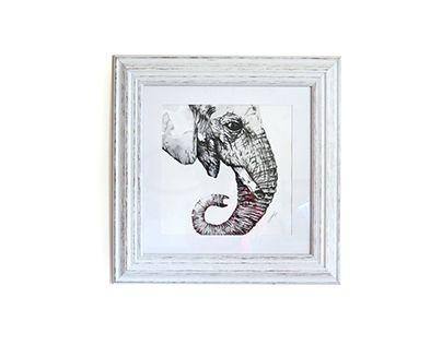"""Check out new work on my @Behance portfolio: """"Watercolour Elephant"""" http://be.net/gallery/58041695/Watercolour-Elephant"""