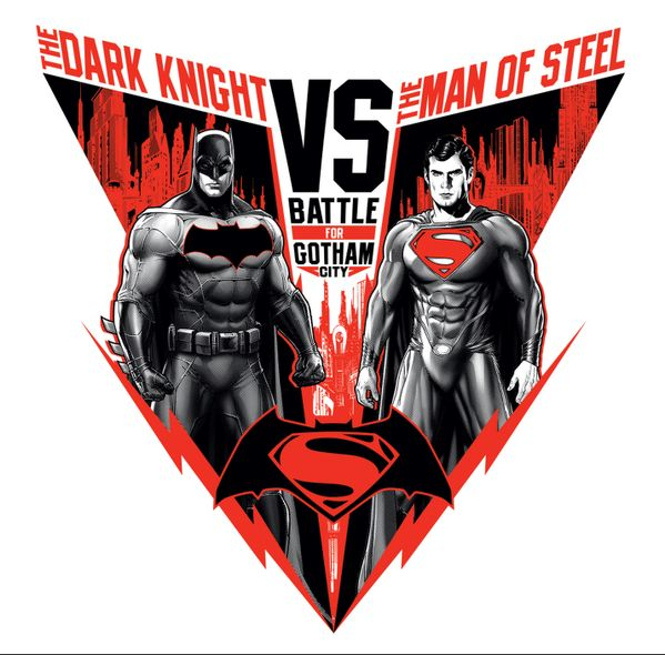 New Batman Vs. Superman Promo Art Surfaced - Cosmic Book News