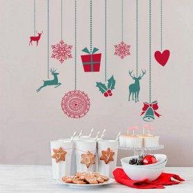 Vánoční dekorace na zeď - Vánoční ozdoby II