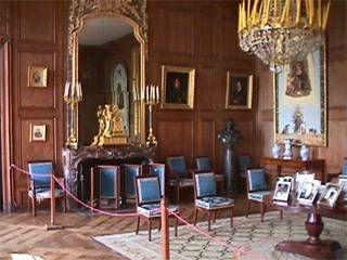 Detailed Description Of The Reception Area   Château De Haroué    Www.chateaux France