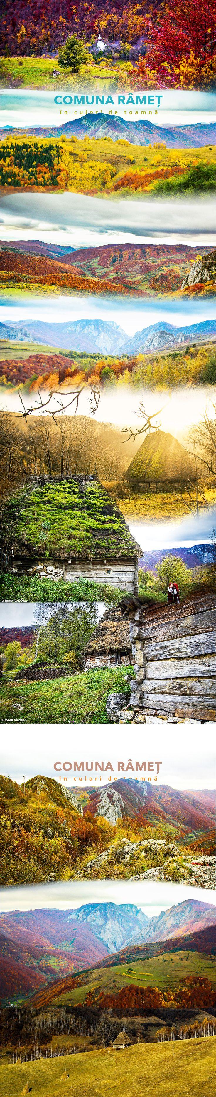 Peisaje de toamnă, Comuna Râmeț, Judetul Alba, Romania #RomaniaFrumoasa #Romania #AlbaFrumoasa #Tourism Romania Foto: Ionut Vaidean