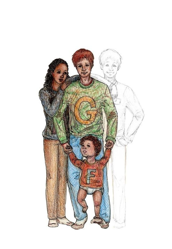 George Weasley married his Quidditch teammate Angelina Johnson. They had two children, Fred and Roxanne. | 28 Things That Happened After The Harry Potter Books Ended