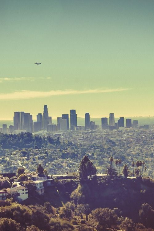 Los Angeles Skyline by (Ben K Adams)