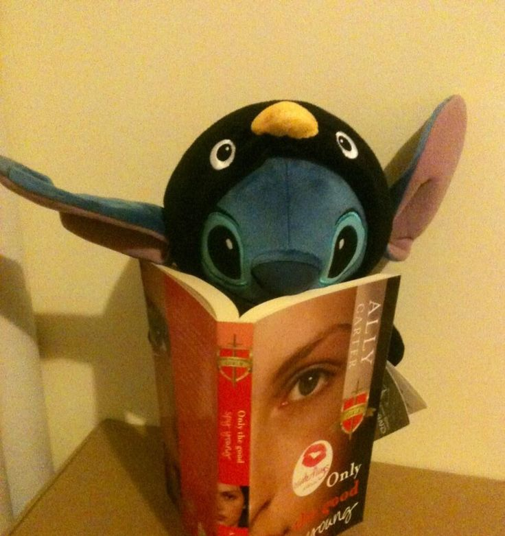 """@Date A Book I just got ready for a warm night in, only to find out that Stitch stole my date! 0_o #4WinterFlings "" - Em (twitter)"