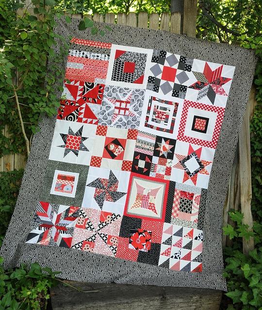 115 best *Red/Black Quilts* images on Pinterest | Colors, Quilt ... : quilt colors schemes - Adamdwight.com
