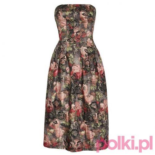 Wzorzysta sukienka F&F #polkipl #moda