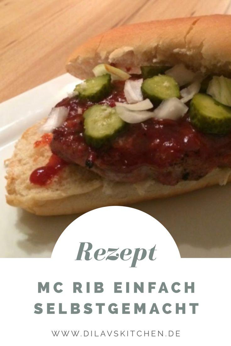Der McRib ist einer der beliebtesten Burger bei McDonalds. Ab sofort kannst du dir diese Köstlichkeit auch ganz easy zu Hause selbst machen: http://www.dilavskitchen.de/mcrib/