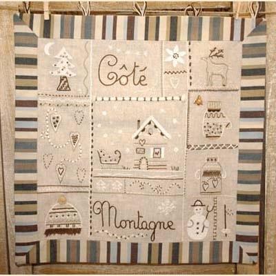 C T Montagne Marron Bordado Pinterest Embroidery