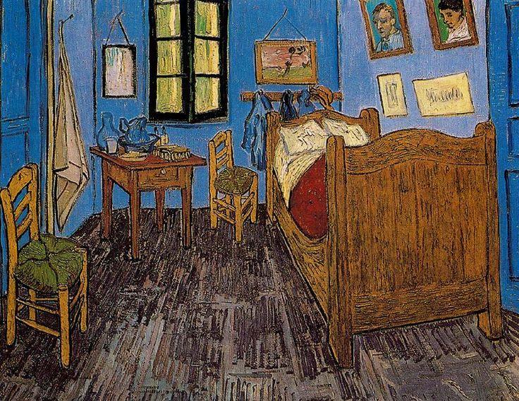 La Habitacion de Vincent Van Gogh 1888 1889