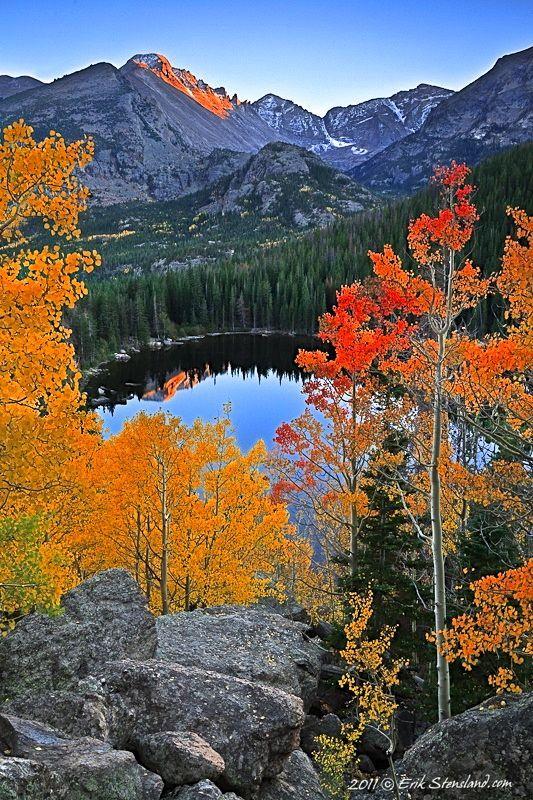 Bear Lake, Rocky Mountain National Park, Colorado, Beautiful place... I would love to go sometime...