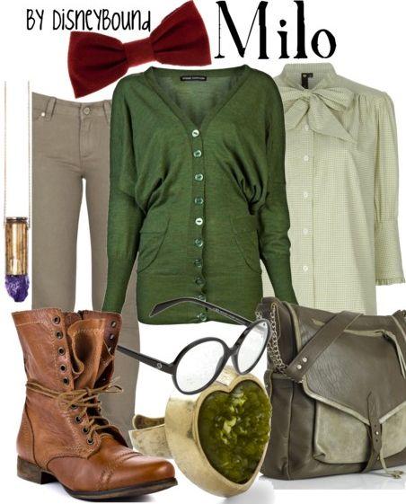 dress like your favorite disney character: Milo