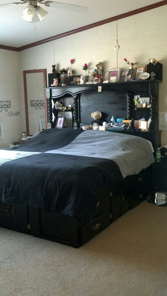 im gonna redo a water bed frame to look like this - Water Bed Frames