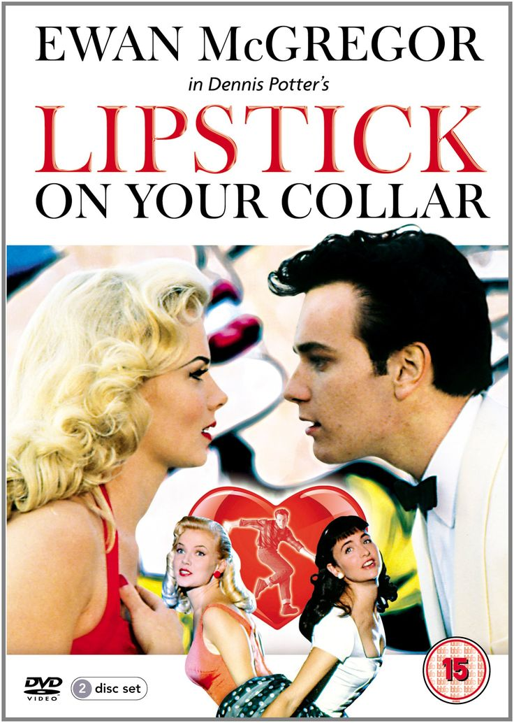 Lipstick on Your Collar, starring Ewan McGregor, Louise Germaine, Douglas Henshall, Roy Hudd, Nicholas Farrell, Maggie Steed, Bernard Hill and Renny Rye, 1993, by Dennis Potter