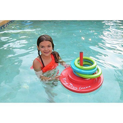 8 best swimming pool water games images on pinterest water toys water games and water play for Two player swimming pool games