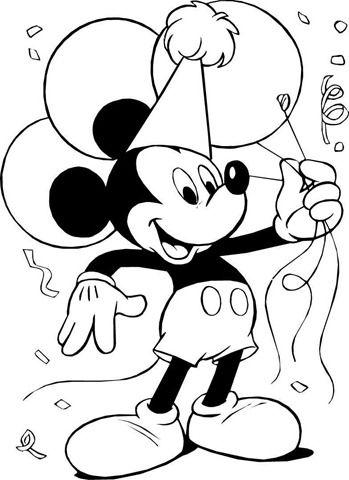 desenhos-para-colorir-disney-mickey