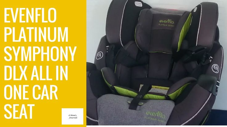 Evenflo Platinum Symphony 65 DLX All in One Car Seat