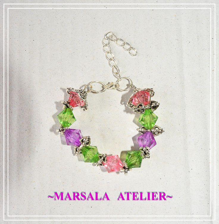 Cone Rainbow Bracelet