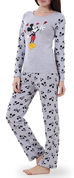 9fa51622f69964 Womens Loungewear Set Snoopy Mickey Mouse Print Pyjama Top Cotton PJ  Nachtwäsche: - pyjama pyjamas