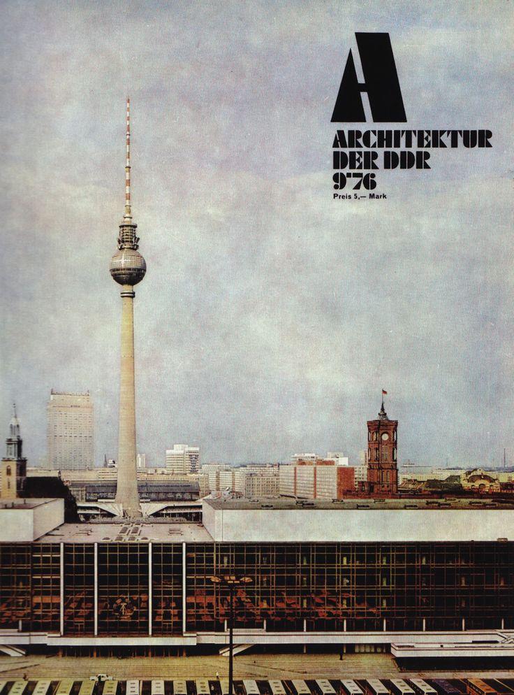 Berlin 70s architecture